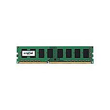 Crucial 2GB DDR3 PC3 12800 Unbuffered