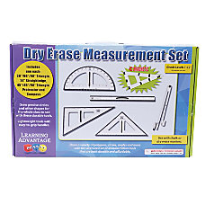 Learning Advantage Dry Erase Magnetic Measurement