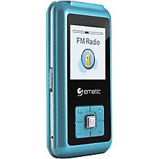 Ematic EM208VID 8 GB Blue Flash