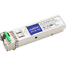 AddOn Cisco SFP 10G BX40U I