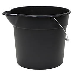 United Solutions Plastic Utility Pail 12