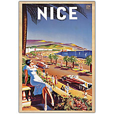 Trademark Global Nice Gallery Wrapped Canvas