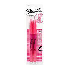 Sharpie Accent Highlighter Pink Ribbon Pack