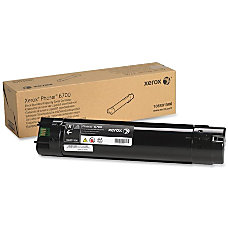 Xerox Standard Capacity Toner Cartridge Black