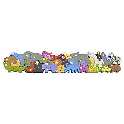 BeginAgain Toys Jumbo Animal Parade A
