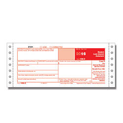 ComplyRight 1098 E Continuous Tax Forms