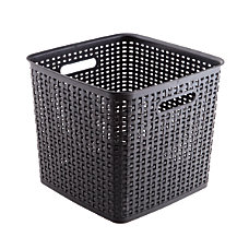 See Jane Work Plastic Weave Bins