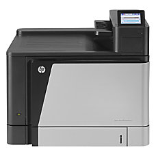HP LaserJet M855DN Laser Printer Color