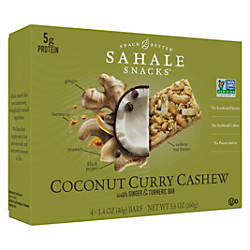 Sahale Snacks Snack Bars Non GMO