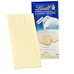 Lindt Classic Recipe Bars White Chocolate