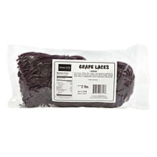Kervan Licorice Laces Grape 2 Lb