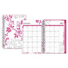 Blue Sky WeeklyMonthly Planner 5 x
