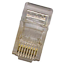 Belkin RJ 45 Plugs Clear Pack