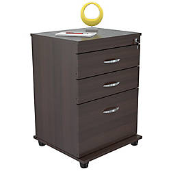 Inval Mobile File Cabinet 3 Drawer