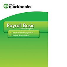 QuickBooks Payroll Basic 2017 Download Version