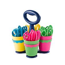 Westcott Kids Microban Scissors With Caddy