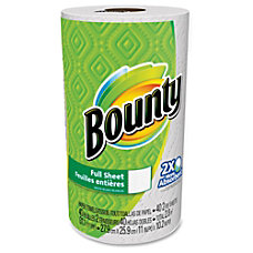 Bounty Full Sheet Paper Towels 2