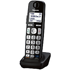 Panasonic KX TGEA20B Digital Cordless Handset