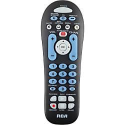 RCA 3 device universal remote