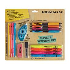 Office Depot Brand 15 Piece Writing