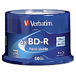 Verbatim Blu ray Recordable Media BD