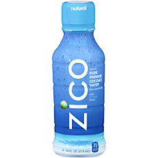 Zico Natural Coconut Water 14 Oz