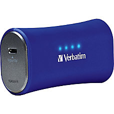 Verbatim Portable Power Pack 2200mAh Cobalt