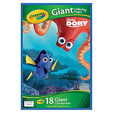 Crayola Disney Finding Dory Giant Coloring