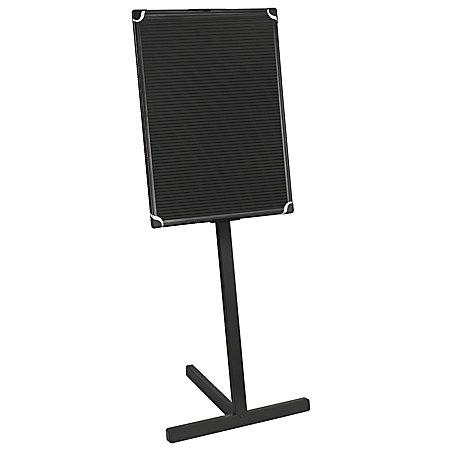 mastervision standing letter board 24 x 36 black plastic frame