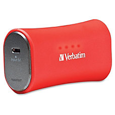 Verbatim Portable Power Pack 2200mAh Red