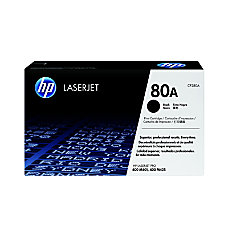HP 80A Black Original Toner Cartridge