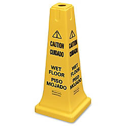 Multilingual Caution Safety Cone