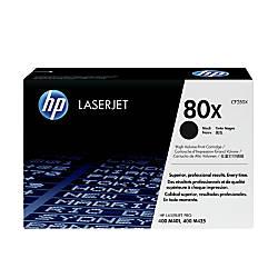 HP 80X CF280X High Yield Black