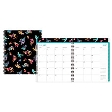 Nicole Miller Frosted Cover Monthly Lined