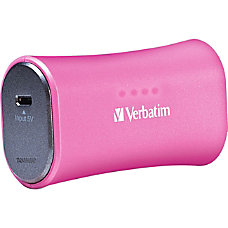 Verbatim Portable Power Pack 2200mAh Pink