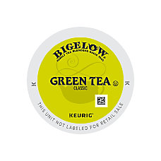 Bigelow Green Tea K Cup Pods