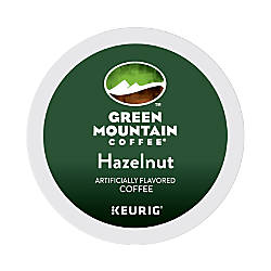 Green Mountain Coffee Hazelnut Cream Coffee