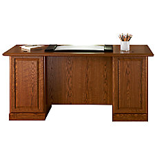 Sauder Orchard Hills Executive Desk Carolina