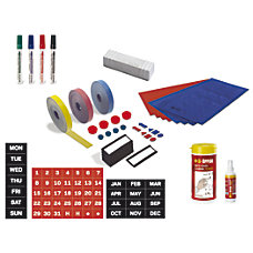 MasterVision Professional Magnetic Planning Accessory Kit