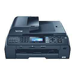 brother mfc 5895cw wireless inkjet all in one printer copier scanner fax by office depot officemax. Black Bedroom Furniture Sets. Home Design Ideas