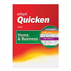 Quicken Home Business 2014 For PC