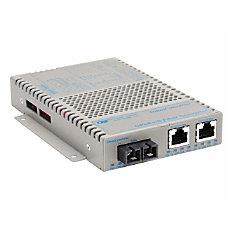 OmniConverter 101001000 PoE Gigabit Ethernet Fiber
