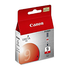 Canon Lucia PGI 9R Red Ink