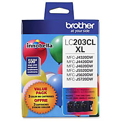 Brother CyanMagentaYellow High Yield Ink Cartridge