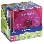 Verbatim 94300 CD Rewritable Media CD