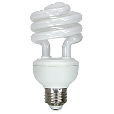GE Spiral T3 Fluorescent Light Bulbs