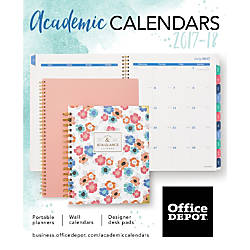 20172018 office depot academic calendaroffice depot & officemax