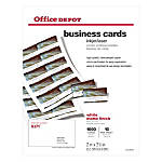 Business Cards & Specialty Cards