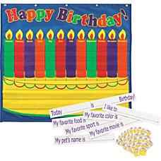 Pacon Birthday Pocket Chart 35 x