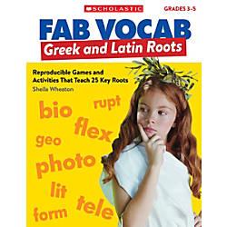 Scholastic Teacher Resources Fab Vocab Greek